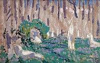 Maurice Denis 1905c Esquisse pour Orphée aux jacinthes.jpg