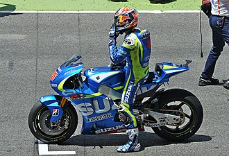 Maverick Viñales - Viñales at the 2015 Catalan Grand Prix