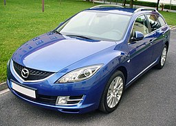 Mazda 6 GH Sport Kombi 2.0 Exclusive Nereusblau
