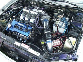 Mazda K engine Japanese V6 car engine design