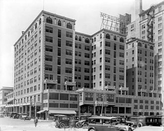Walter De Garmo - Photograph of the McAllister Hotel in 1926 courtesy of the Florida Photographic Collection. Once the tallest building in Miami, it was eventually demolished.