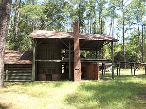 National Register of Historic Places listings in Atkinson County, Georgia - Image: Mc Cranie's Turpentine Still 02
