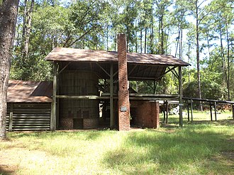 Willacoochee, Georgia - McCranie's Turpentine Still, just west of Willacoochee, on the National Register of Historic Places