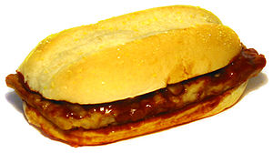 Photo of McDonald's McRib.