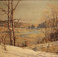 Meadows in Winter painting by George Loftus Noyes.jpg