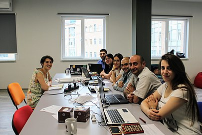 Meeting of AGBU WikiClubs coordinators, 15-16 June 2018, Wikimedia Armenia 04.jpg