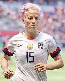 Megan Rapinoe American soccer player
