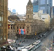 Melbourne Town Hall-Collins Street