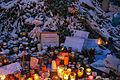 Memorial to November 2015 Paris attacks at French embassy in Moscow 14.jpg