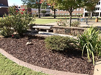University of Central Arkansas - Memorial Unity Garden in front of Arkansas Hall honoring the victims.