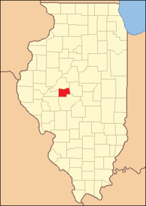 Menard County, Illinois - Image: Menard County Illinois 1841