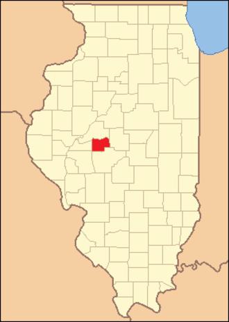 Menard County, Illinois - Image: Menard County Illinois 1841