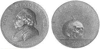 Moses Mendelssohn - Medal honoring Mendelssohn.