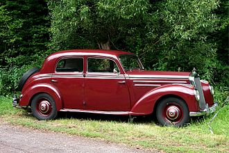 Mercedes-Benz W187 - Image: Mercedes Benz 220, 1951 1954 (2008 07 12) kl