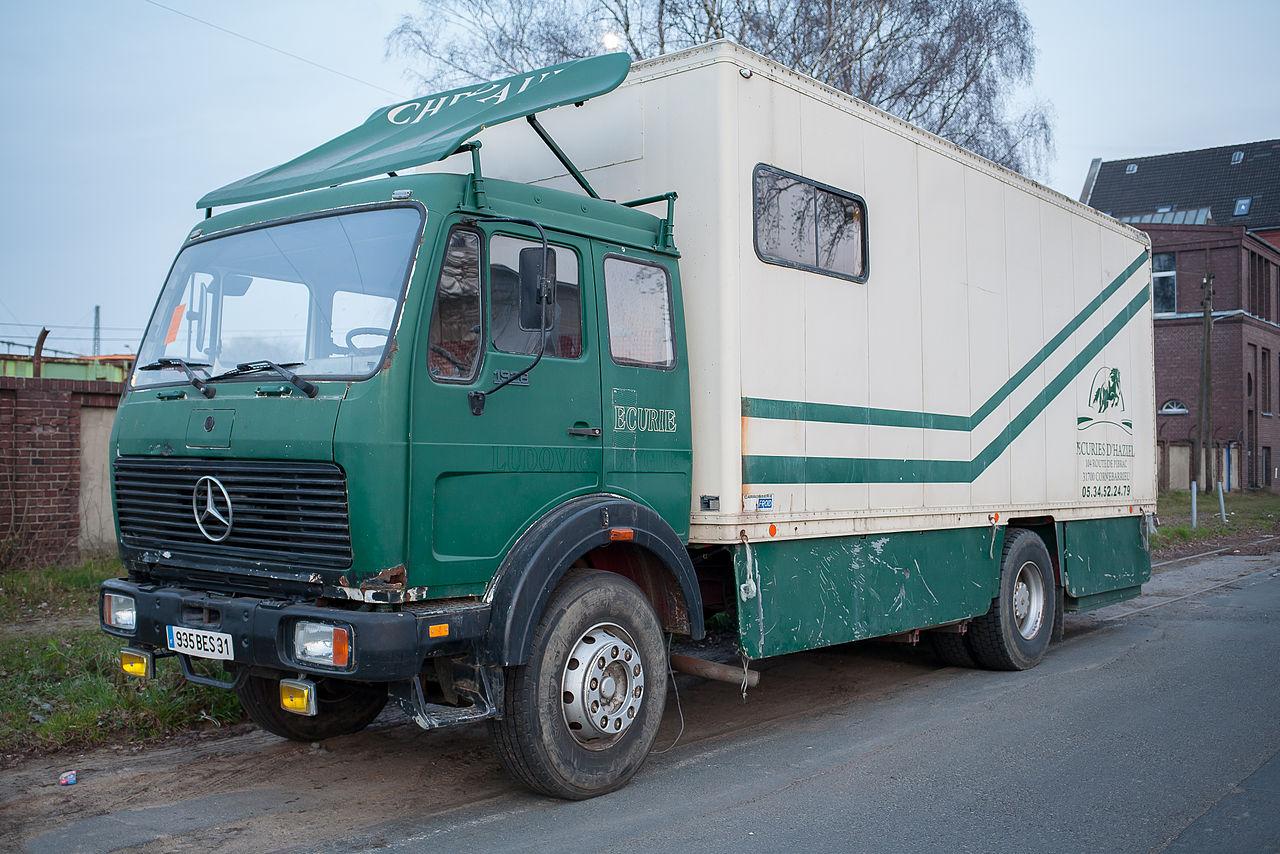 file mercedes benz truck ng80 type wikimedia. Black Bedroom Furniture Sets. Home Design Ideas