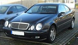 Mercedes CLK Elegance W208 (Facelift, 1999–2002) front MJ
