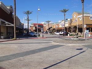 Mesa Riverview - Street West - 2010-01-29.JPG