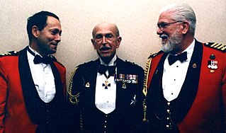 Mess dress uniform formal evening dress worn by military officers in the mess or at other formal occasions