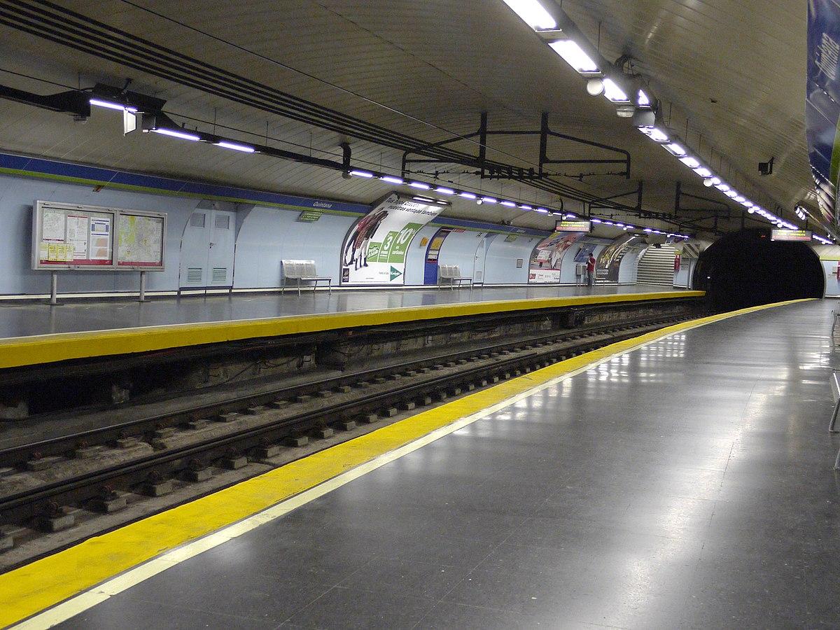 Quintana Madrid Metro Wikipedia
