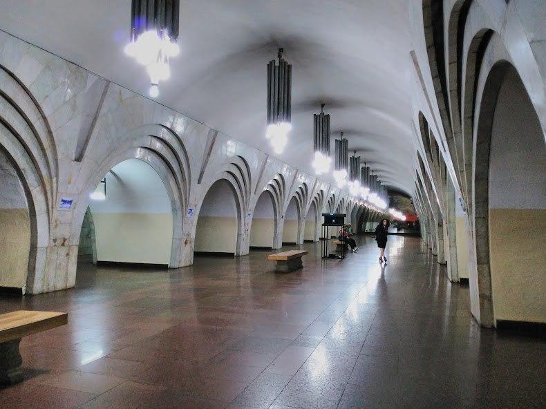 Metro Yerevan Republic Square metro station