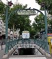 Metropolitain Blanche, Boulevard de Clichy, Montmartre - panoramio.jpg