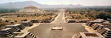 Teotihuacan, costruita tra il 300 e il 150 a.C.
