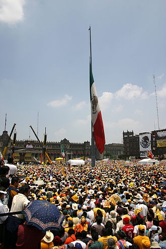 "Mexican general election 2006 controversies - ""Third Informative Assembly"" called by Andrés Manuel López Obrador, July 30, 2006"