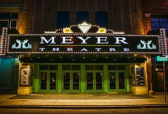 The Meyer Theatre Meyer Theatre New Marquee.jpg