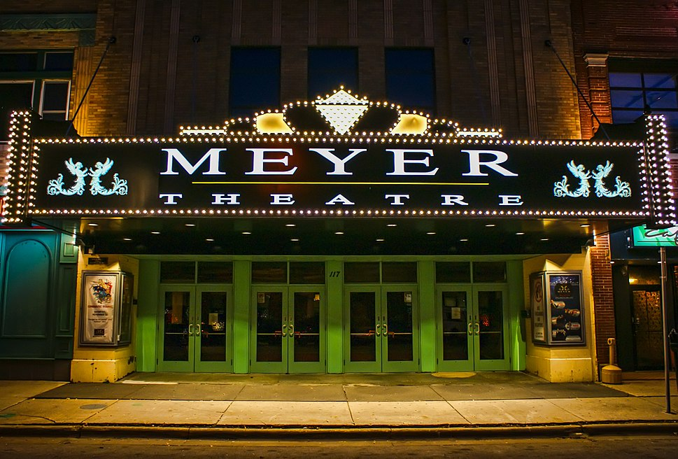 Meyer Theatre New Marquee