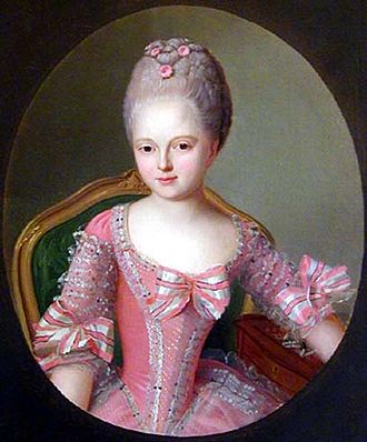 Maria Feodorovna (Sophie Dorothea of Württemberg) - Young Sophie Dorothea in 1770.