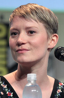 Mia Wasikowska - the beautiful, cute,  actress  with Australian, Polish,  roots in 2020