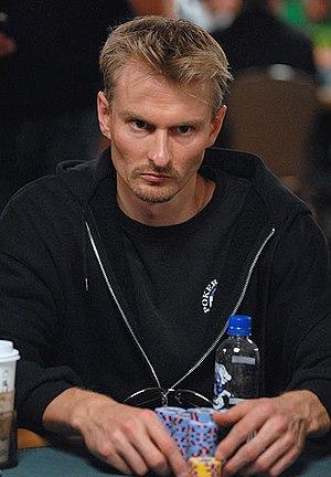 Michael Binger - Binger at the 2008 World Series of Poker