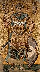 Димитрій Солунський (мозаїка 12 ст.)