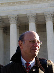 Michael Ratner, current President of the Center for Constitutional Rights.