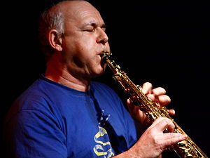 English: French saxophone-player Michel Doneda...