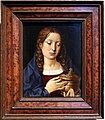 Michel sittow, caterina d'aragona (forse) nei passi di maria maddalena, 1490-1510 ca.jpg
