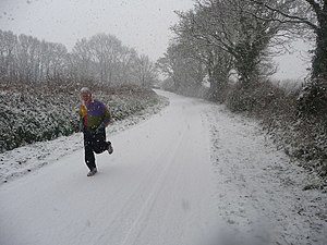 300px Mid Devon %2C Country Road and Jogger   geograph.org.uk   1650403 6 Problems with Being an Infrequent Blogger