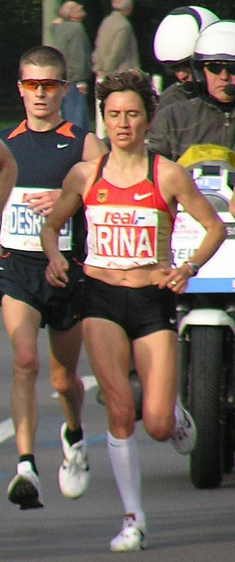 Eurocross - Irina Mikitenko won for a second time in 2000.