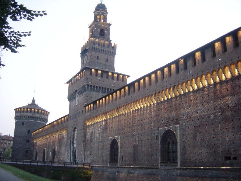 Castillo Sforzesco (Milán – Italia)