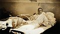 Military Hospital V.R. 76, Ris-Orangis, France; soldier with Wellcome V0029392.jpg