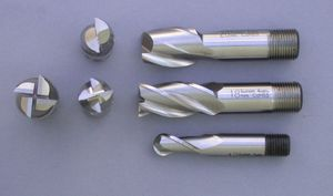 End mill - Several types of end mills