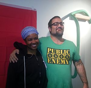 Mimi Soltysik presidential campaign, 2016 - Mimi Soltysik and Angela Walker