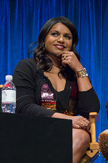 Mindy Kaling - the friendly, fun,  actress, comedian, writer,   with Indian roots in 2019