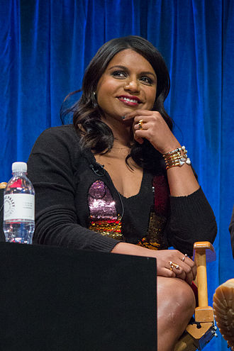 Mindy Kaling - Kaling at Paleyfest in 2013 for The Mindy Project