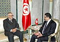 Ministère Tunisien des Affaires Etrangères - Dr Rafik Abdessalem a reçu M. Abdelwahed Radi, Président de l'Union Interparlementaire (UIP).jpg