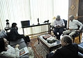 Ministro Aldo e o cacique Xavante, Arnaldo Tsererowe. (21741950004).jpg