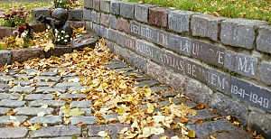 Sovietization of the Baltic states - Memorial to deported Latvian children who died in exile, 1941-1949
