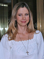 Photo of Mira Sorvino.