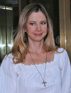 Mira Sorvino American actress