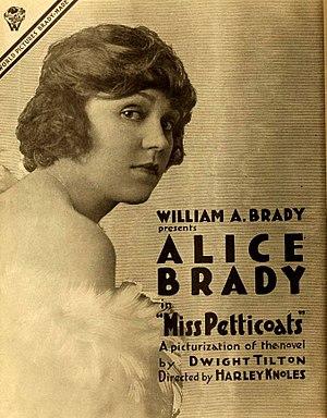 Alice Brady - Image: Miss Petticoats